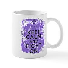 Hodgkins Lymphoma Keep Calm Fight On Mug