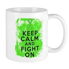 Non-Hodgkins Lymphoma Keep Calm Fight On Mug