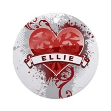 Love Ellie Ornament (Round)