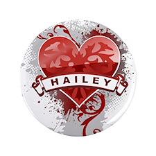 "Love Hailey 3.5"" Button"
