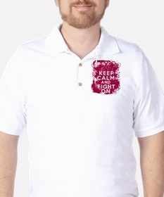 Multiple Myeloma Keep Calm Fight On T-Shirt