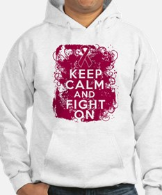 Multiple Myeloma Keep Calm Fight On Hoodie