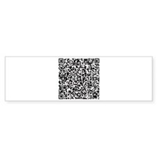 Personal Protection QR for your Stuff in Black Sti