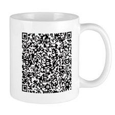 Personal Protection QR for your Stuff in Black Mug