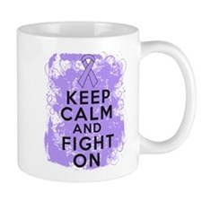 General Cancer Keep Calm Fight On Mug