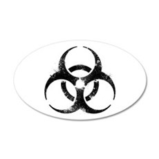 Biohazard Symbol Wall Decal