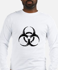 Biohazard Symbol Long Sleeve T-Shirt