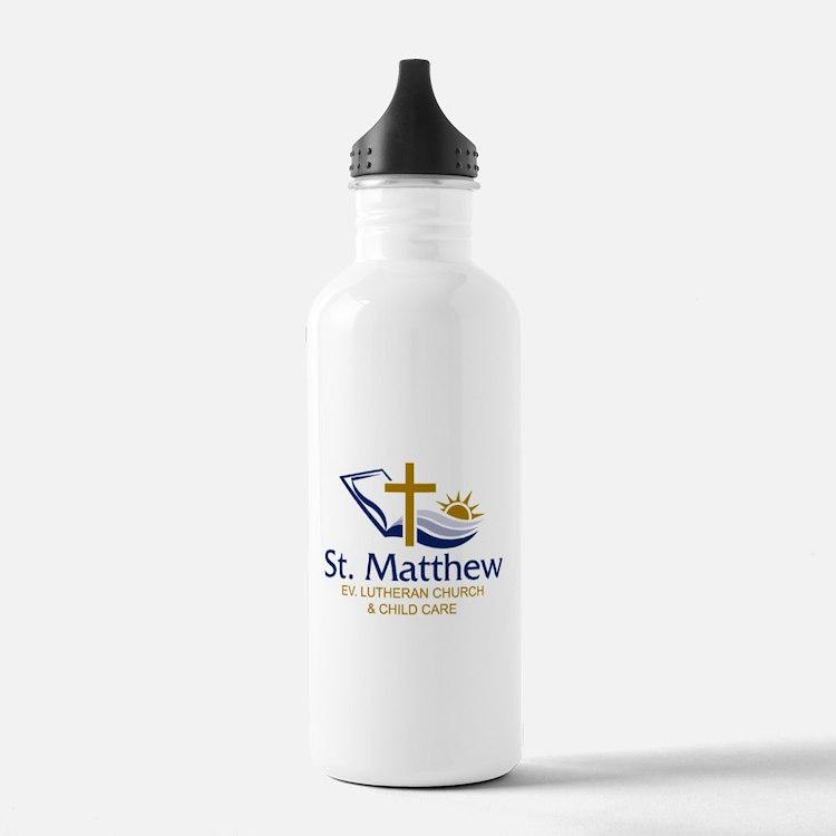 Church Logo Water Bottle