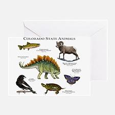 Colorado State Animals Greeting Card