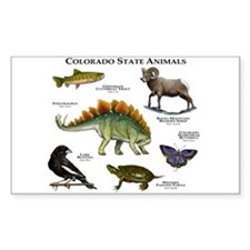 Colorado State Animals Decal