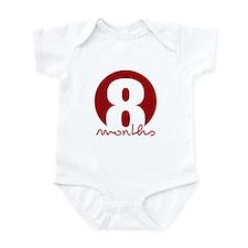 8 Month Identifier Infant Bodysuit