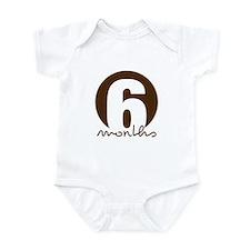 6 Month Identifier Infant Bodysuit