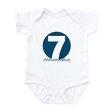 7 Month Identifier Infant Bodysuit