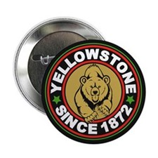 "Yellowstone Black Circle 2.25"" Button"