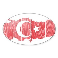 Turkey Flag And Map Decal