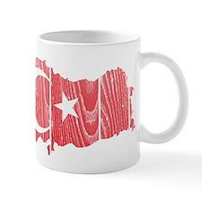 Turkey Flag And Map Small Mug