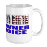 American by Birth Large Mug