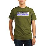American by Birth Organic Men's T-Shirt (dark)