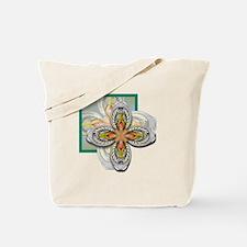 Prehistoric Flower Tote Bag