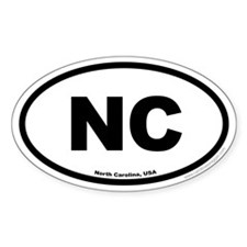 North Carolina USA North Carolina EURO Oval