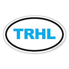 Tarheel North Carolina Oval EURO Blue