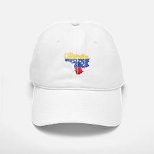 Venezuela Flag And Map Baseball Baseball Cap
