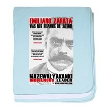 Emiliano Zapata: Indigenous Leader baby blanket