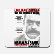 Emiliano Zapata: Indigenous Leader Mousepad