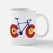 Colorado Flag Bicycle Mugs
