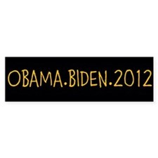 OBAMA.BIDEN.2012 Bumper Sticker