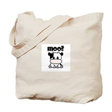 Moo? Cow Tote Bag