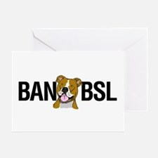 Ban BSL Greeting Card