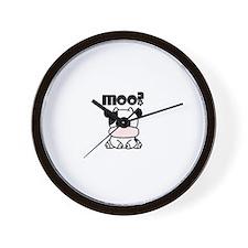 Moo? Cow Wall Clock