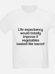 Vegetables Tasted Like Bacon T-Shirt