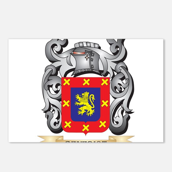 Benedict Family Crest - B Postcards (Package of 8)