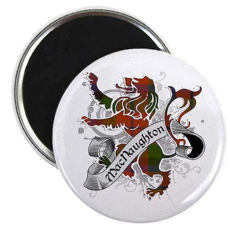 MacNaughton Tartan Lion Magnet