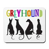 Greyhounds Mouse Pads