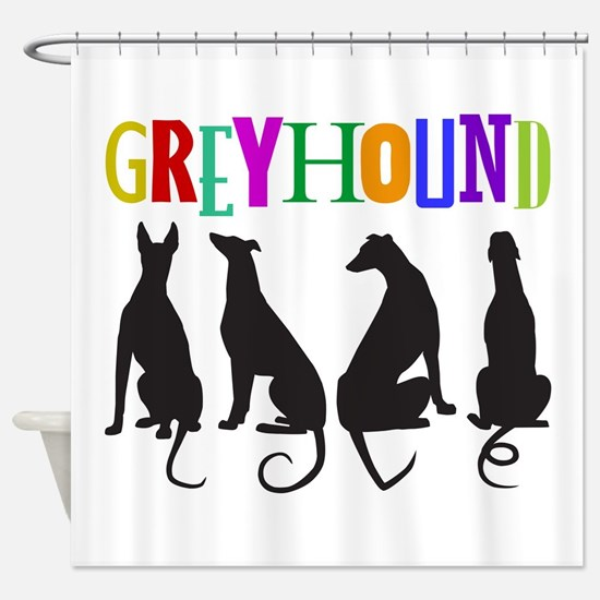 Tails of Love Shower Curtain
