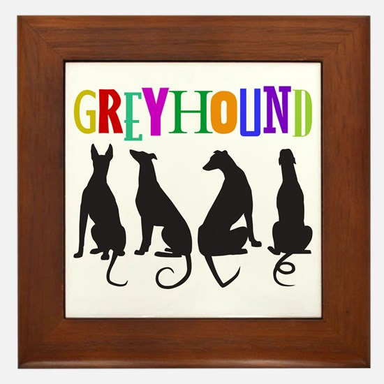 Tails of Love Framed Tile