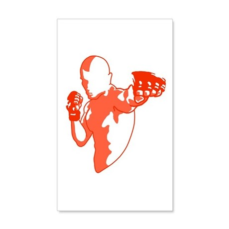 Punch (red) 35x21 Wall Decal
