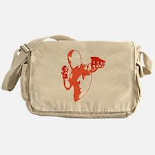 Punch (red) Messenger Bag