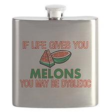 Dyslexic Melons Flask