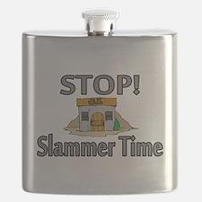 Stop Slammer Time Flask