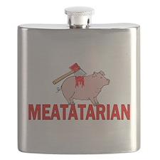 Meatatarian Flask