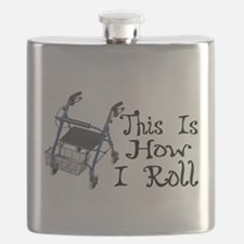 How I Roll Walker Flask