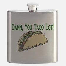 Taco Lot Flask