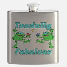 Toadally Fabulous Flask