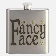 Fancy Face Flask