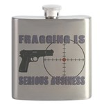 Serious Fragging Flask