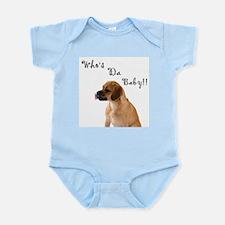 Who's da Baby? Infant Creeper